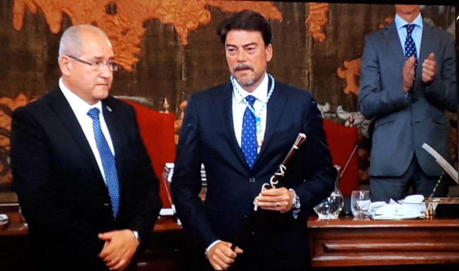 Luis Barcala (PP) gobernará Alicante en solitario a un año de elecciones