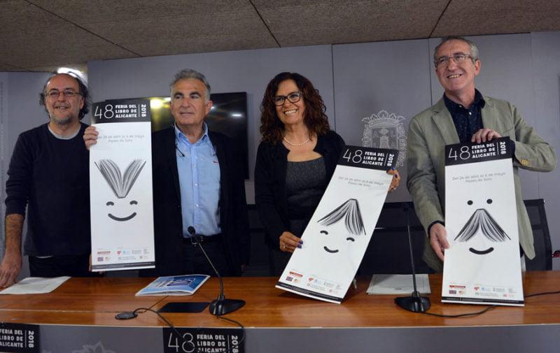 La Feria del Libro de Alicante potenciará a escritores y diseñadores locales