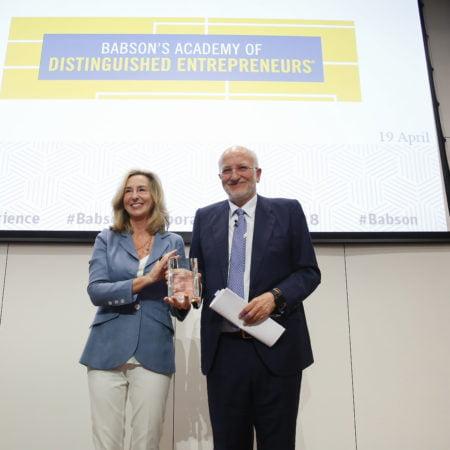 Imagen destacada Juan Roig entra en el Hall of Fame de los emprendedores de Babson College