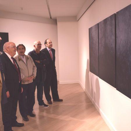 Imagen destacada Las visiones de lo innombrable, del pintor Miguel Borrego, en El Corte Inglés