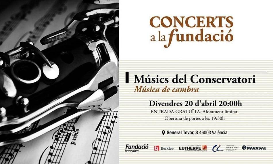 Alumnos del Joaquín Rodrigo ofrecerán un concierto de música de cámara