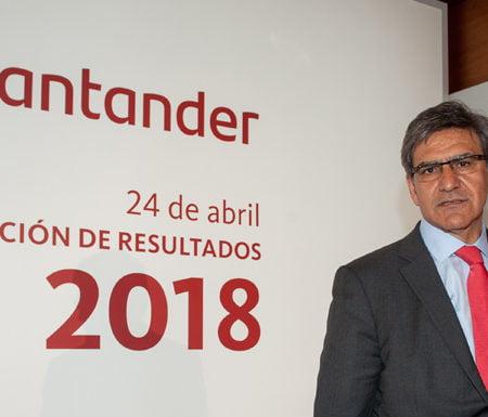 Imagen destacada El beneficio del Santander alcanzan los 2.054 millones en el primer trimestre