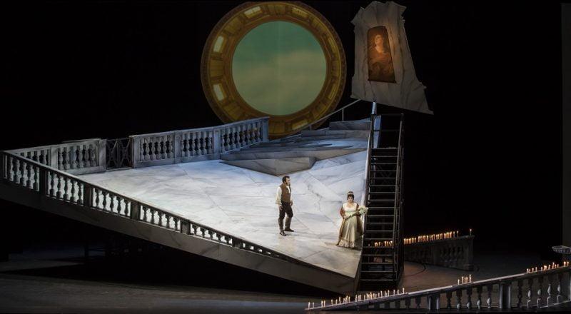 Davide Livermore dirigió ayer el ensayo general de Tosca en Les Arts