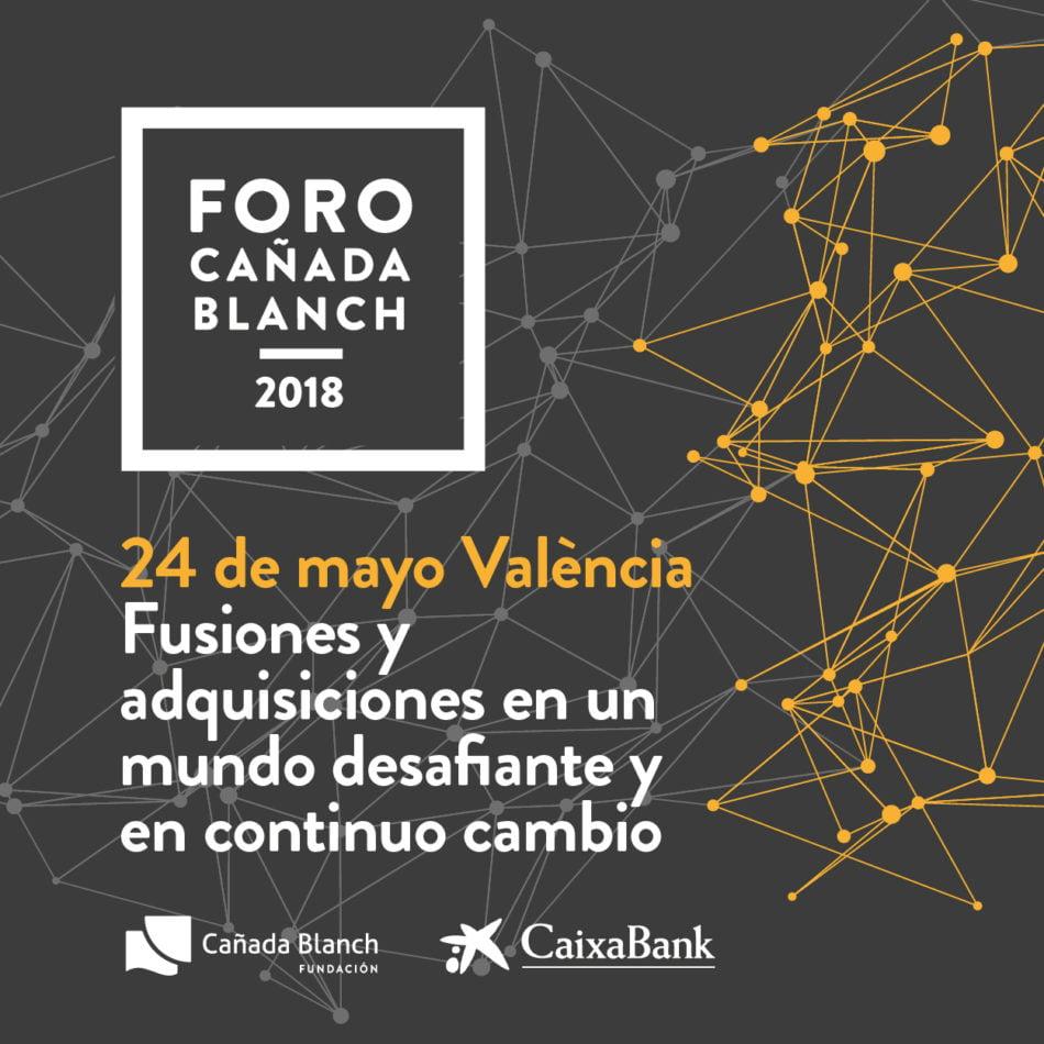 Tendencias globales en fusiones y adquisiciones en el Foro Cañada Blanch