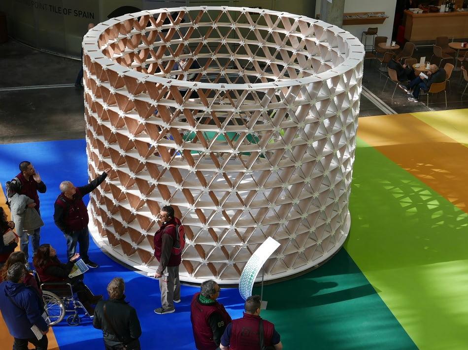Cevisama busca la mejor propuesta de diseño para el espacio Trans-hitos 2019