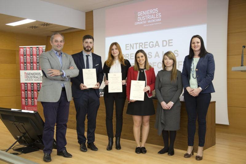 Las mujeres protagonizan los premios a los mejores proyectos finales del Coiicv