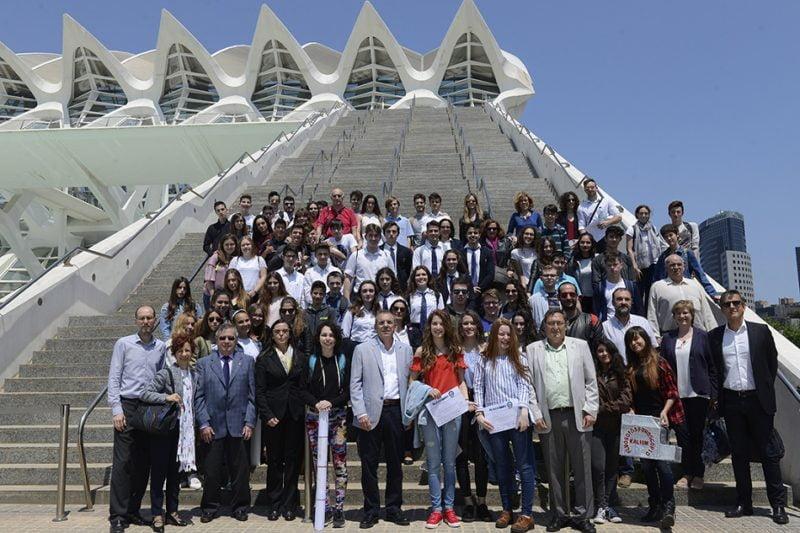 El concurso Reacciona! premia a estudiantes de Xàtiva, València y Aragón