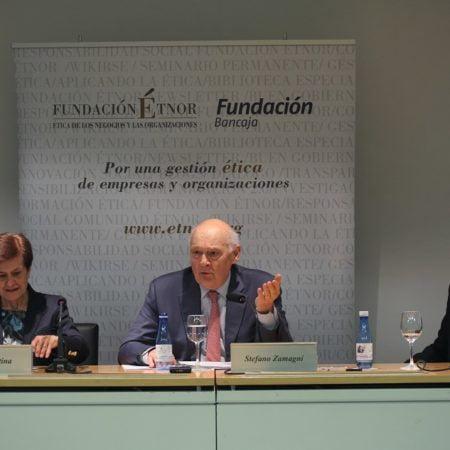 "Imagen destacada Zamagni: ""Las finanzas modernas son estructuras de pecado"""