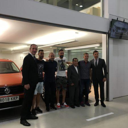 Imagen destacada Levante Wagen entrega la nueva flota VW al Levante UD en Autoval