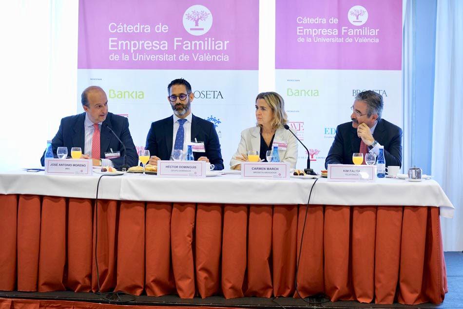 La Cátedra de Empresa Familiar aborda el papel de consejeros independientes