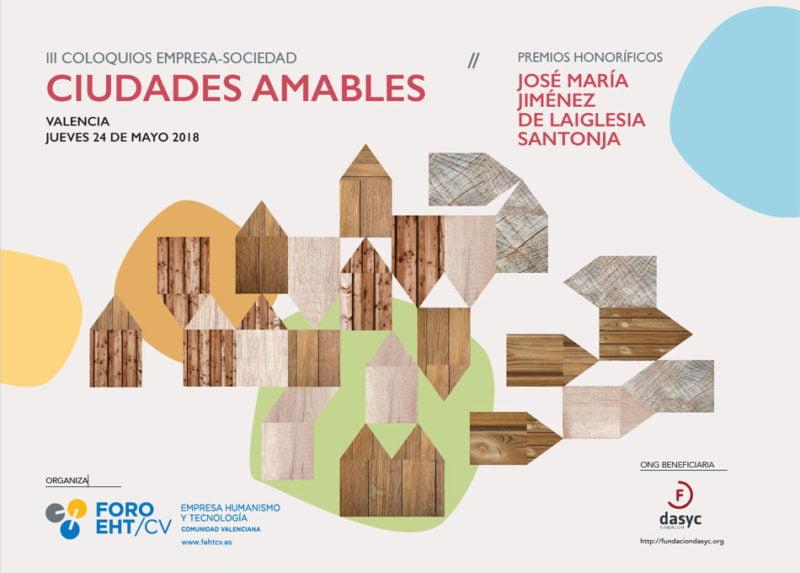 Foro Empresa y Humanismo convoca el coloquio Ciudades Amables