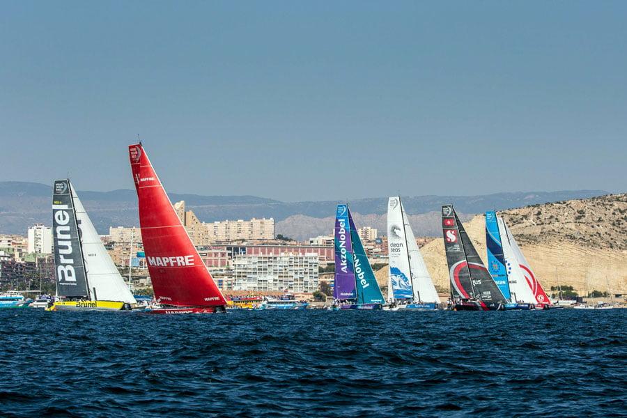 Atlant Ocean Racing Spain toma el control de la Volvo Ocean Race