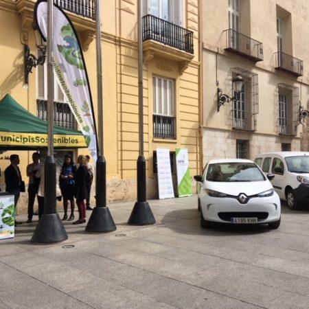 Imagen destacada La gama Renault ZE por los Municipios Sostenibles junto a la Diputació de València