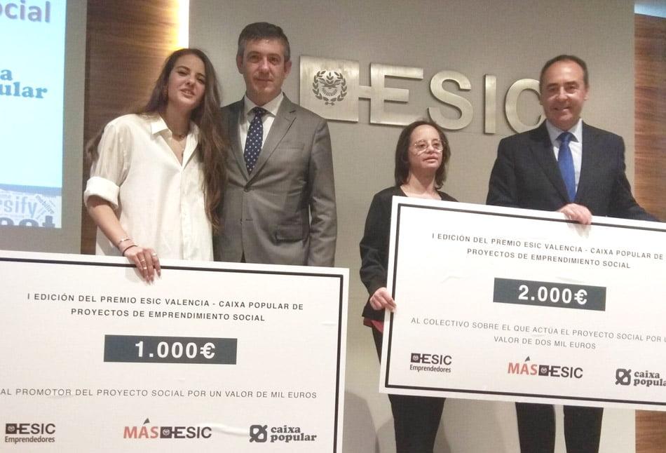 Sonia Nieto gana el Premio Emprendimiento Social de Caixa Popular