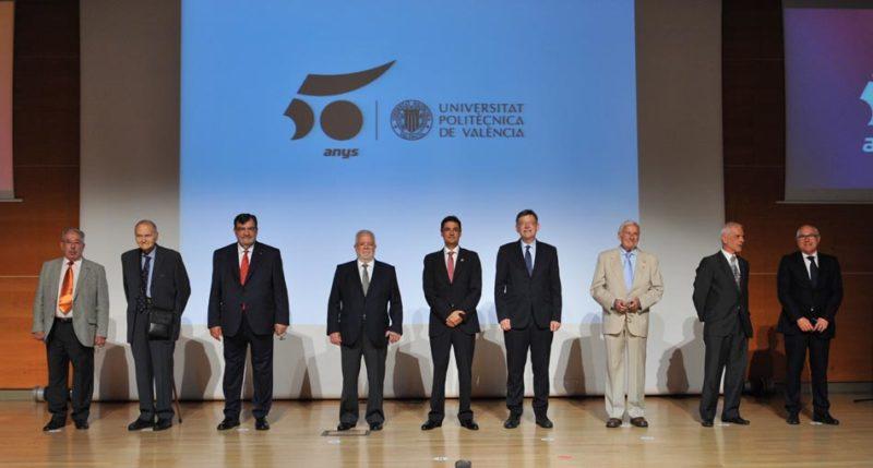 Mora reivindica una universidad pública de calidad en el 50 aniversario de la UPV
