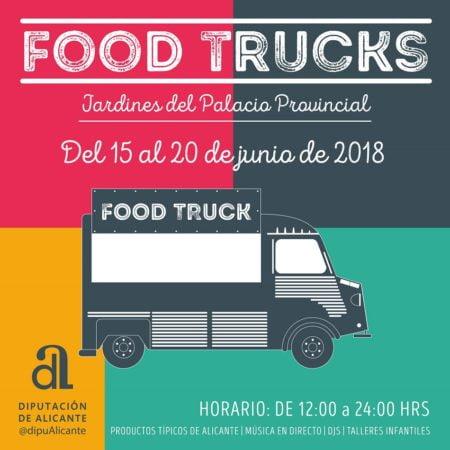 Imagen destacada Food Trucks internacionales toman la Diputación Provincial de Alicante