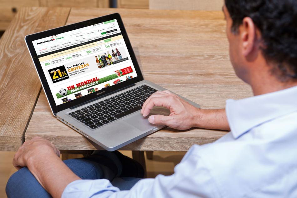 f5b00ea3c23 El Supermercado de El Corte Inglés renueva su web de compra on line ...
