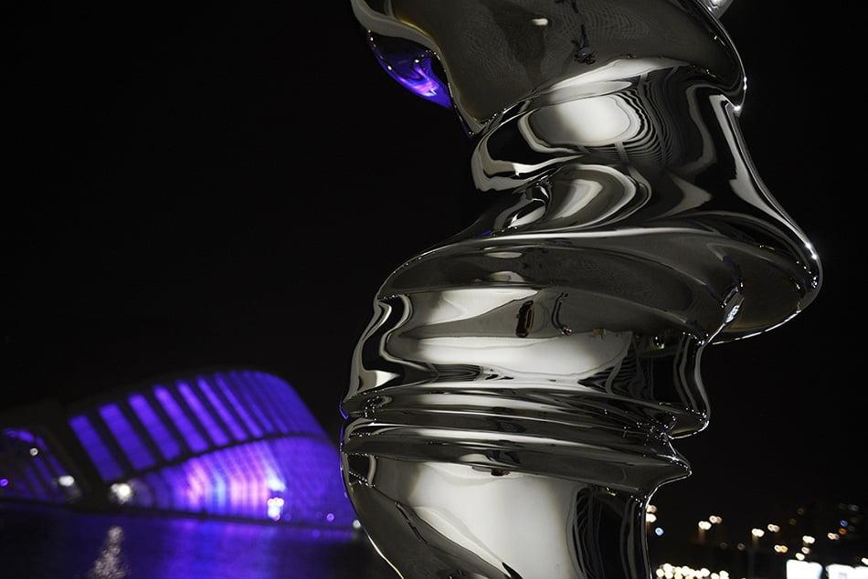 La Ciutat de les Arts y les Ciències expone seis esculturas de Tony Cragg