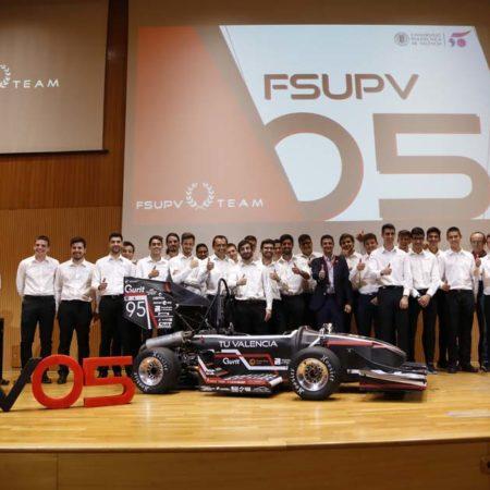 Imagen destacada El FSUPV Team presenta su monoplaza para competir en Fórmula Student