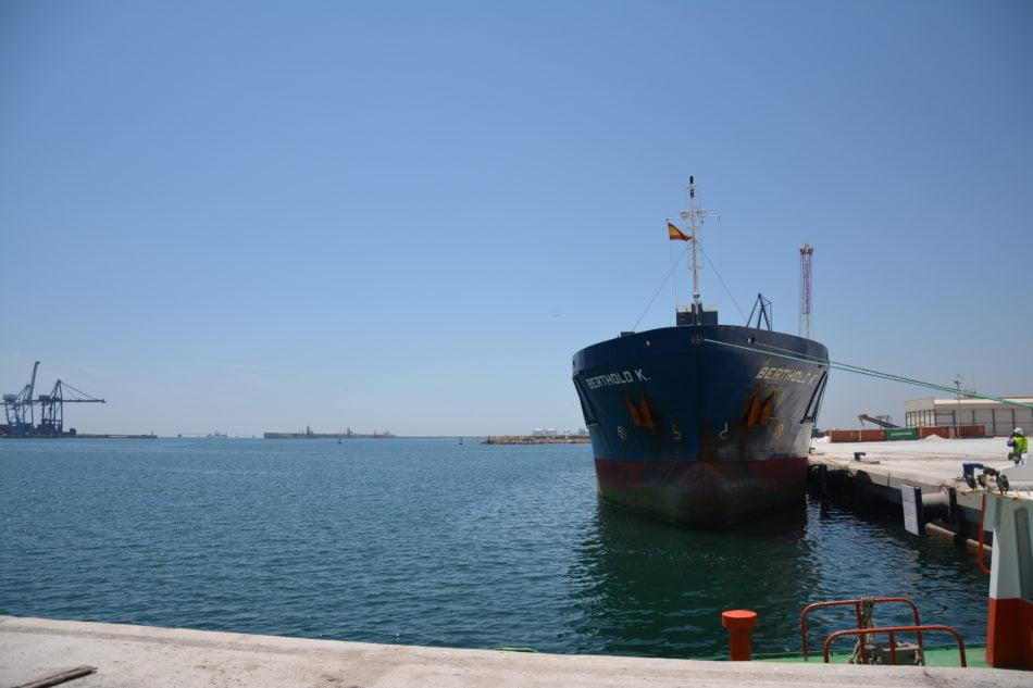 PortCastelló supera los 10 millones de toneladas de mercancías en un semestre