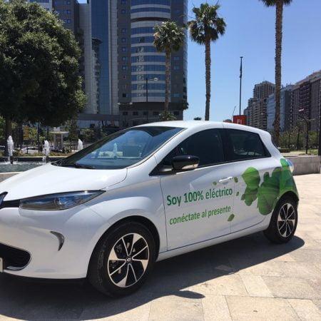 Imagen destacada Renault Zoe, un modelo 100% eléctrico con una autonomía de 300 km