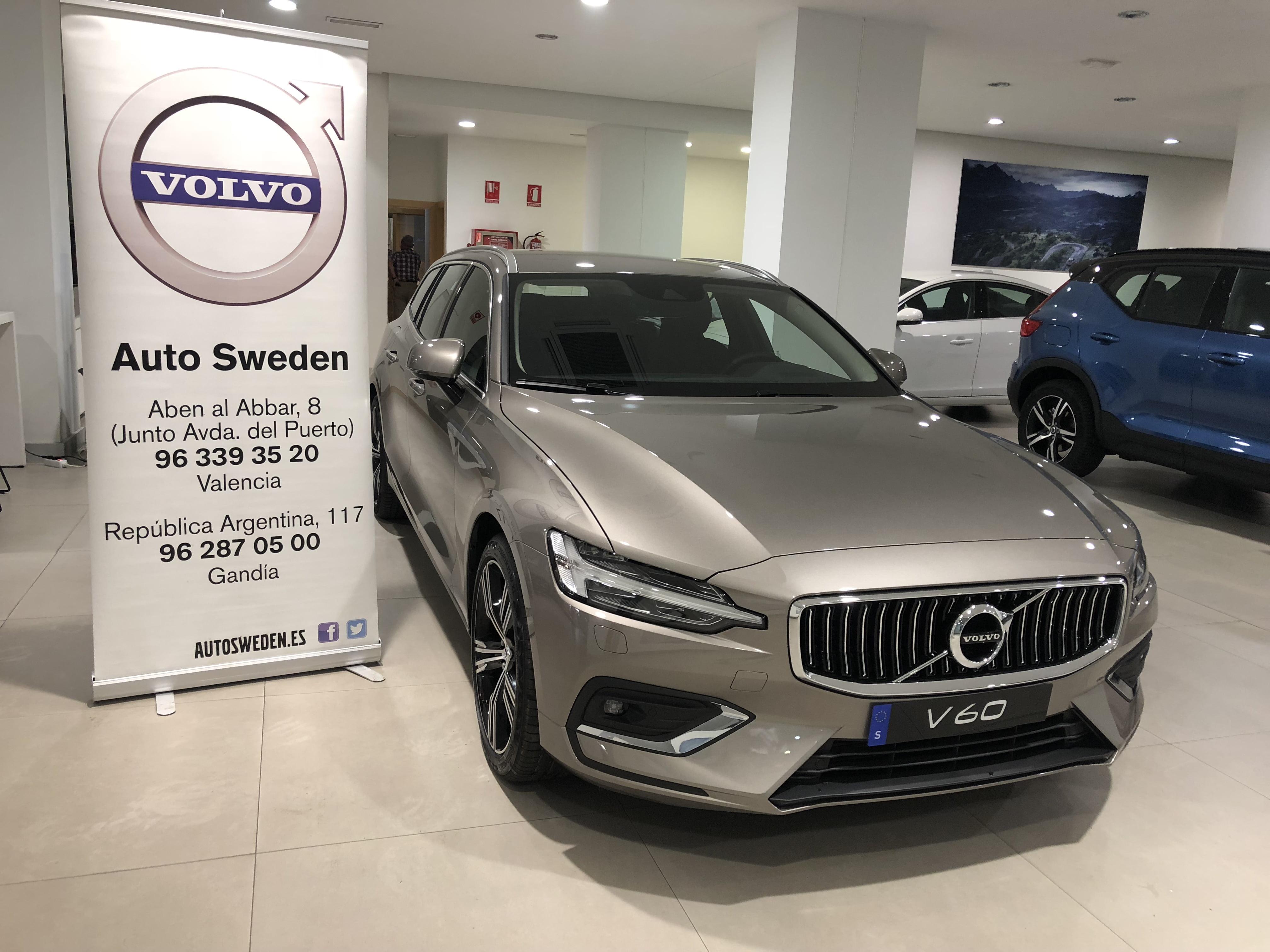 El nuevo Volvo V60 ya en Auto Sweden en Valencia y Gandía