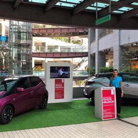 Imagen destacada Toyota Valencia expone el nuevo Aygo y el espectacular C-HR en Aqua