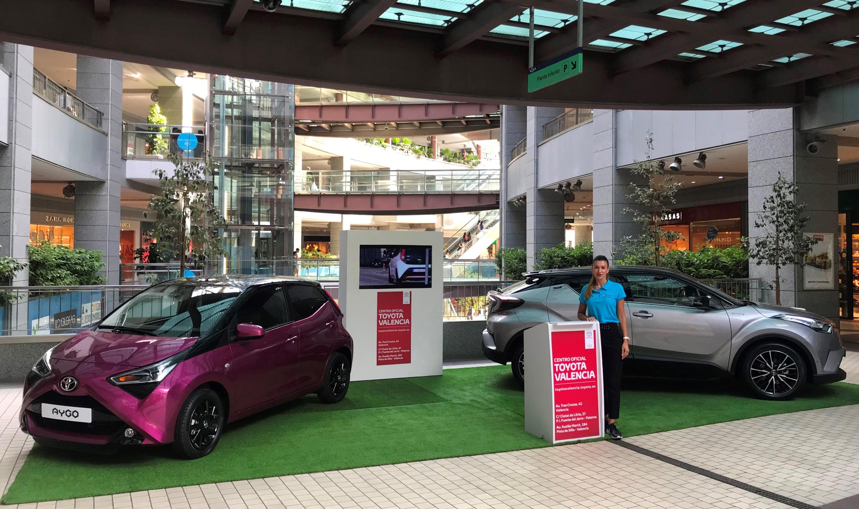 Toyota Valencia expone el nuevo Aygo y el espectacular C-HR en Aqua