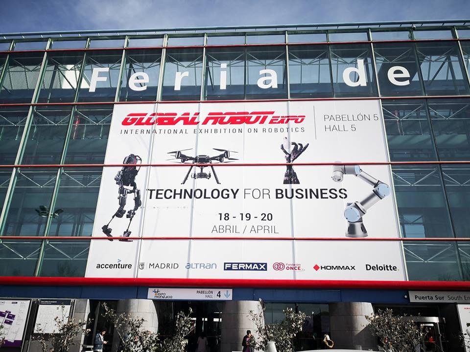 Hommax Sistemas, de patrocinador a organizador de Global Robot Expo