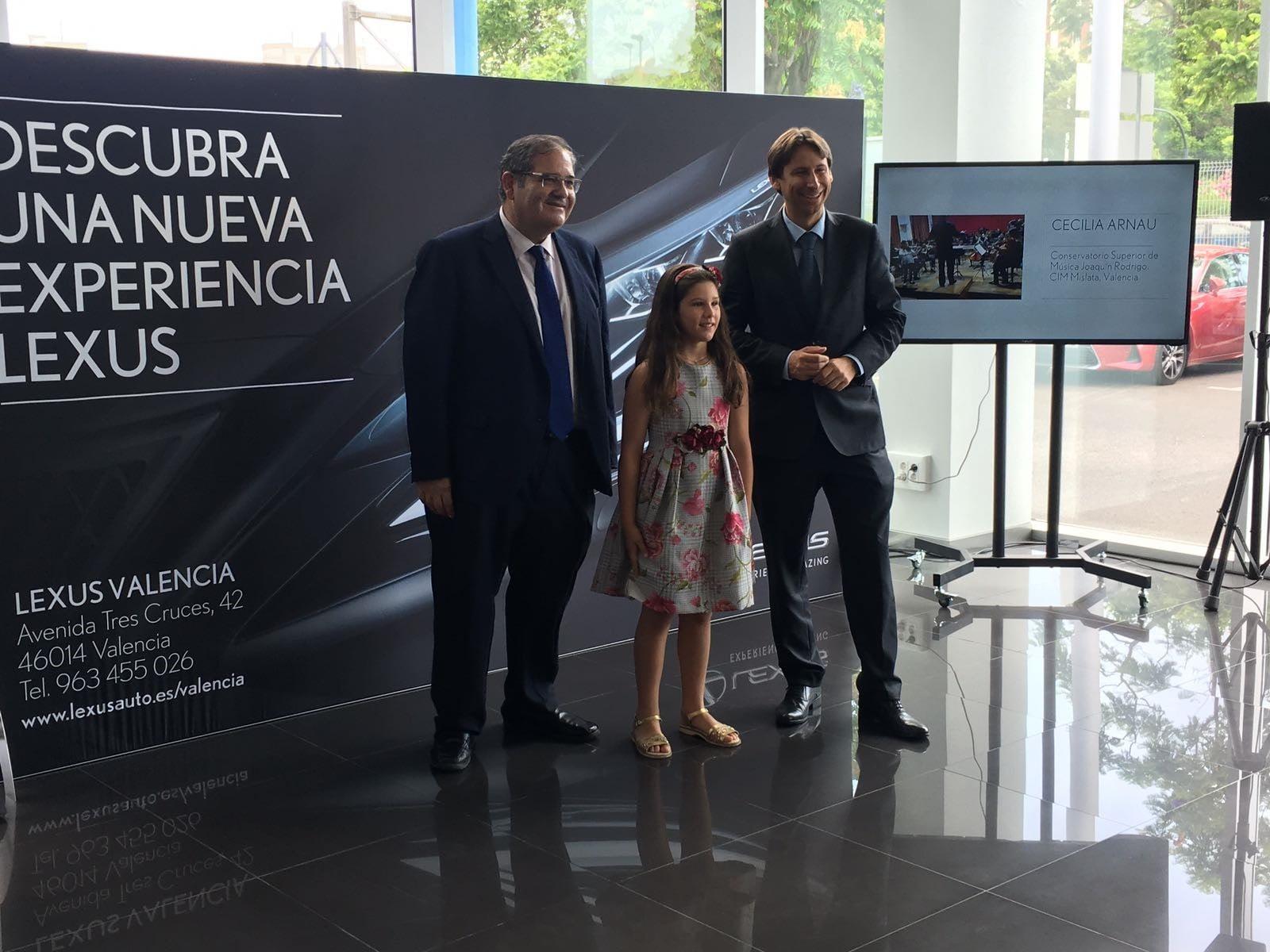 Cecilia Arnau, de 8 años, candidata a los Premios de la Música de Lexus
