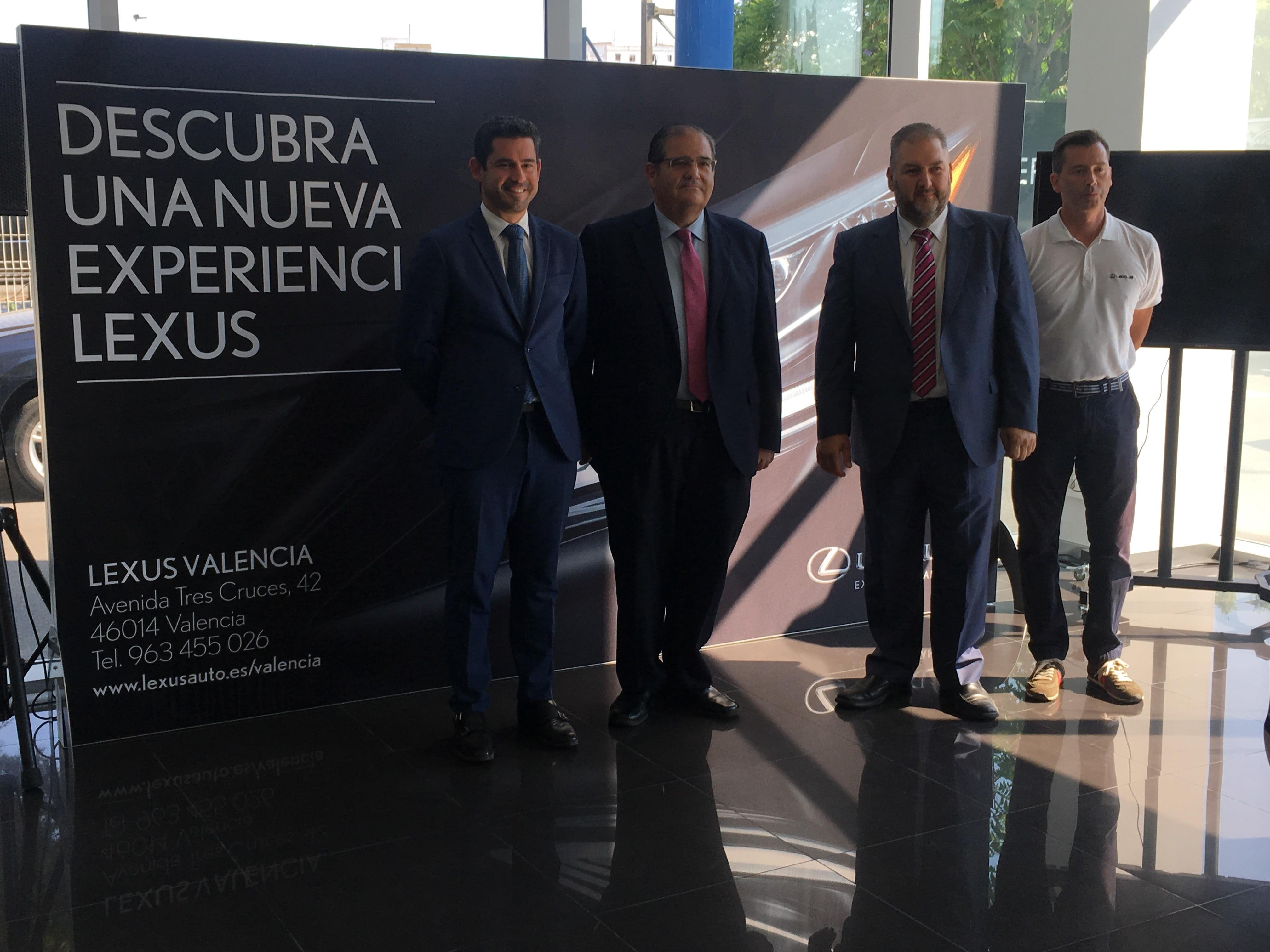 Lexus Valencia presenta los nuevos Lexus ES 300h y Lexus UX 250h