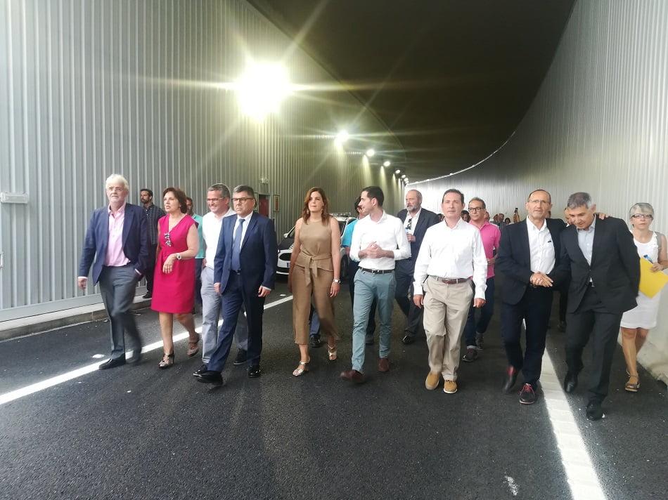 Fulgencio inaugura el nuevo paso inferior de la V-30 en Xirivella