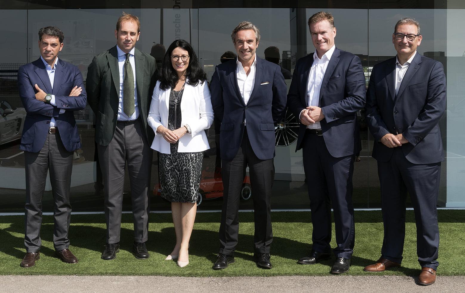 Centro Porsche Valencia recibe a la máxima responsable de Porsche AG en Europa estándares