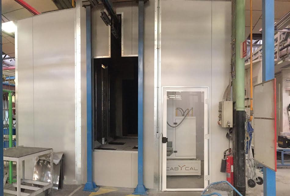 Istobal moderniza su línea de pintura con un horno con sistema de infrarrojos