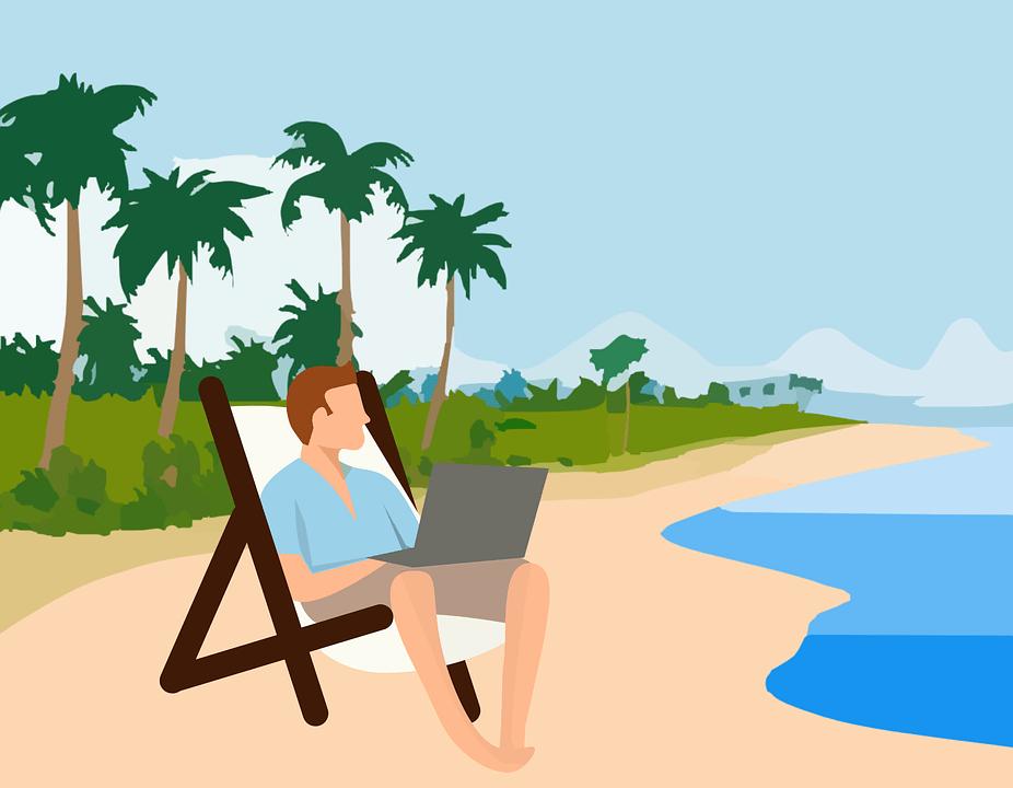 El 77,8% de los trabajadores se evade del trabajo en vacaciones