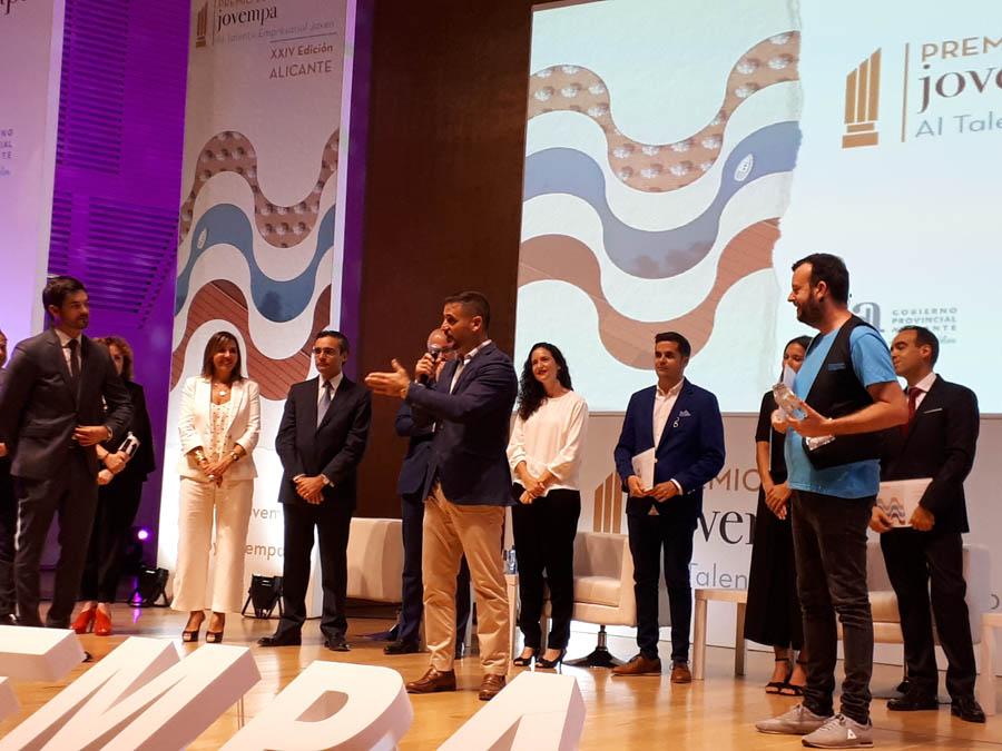 Andrés De España se alza con el Premio Jovempa al talento empresarial joven