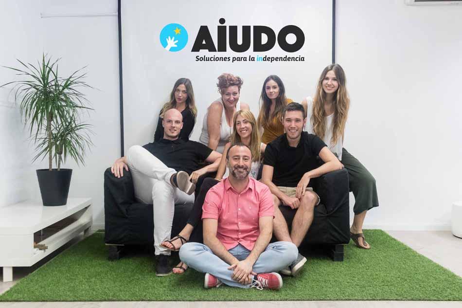 La startup valenciana AiUDO, semifinalista en los Premios Mapfre