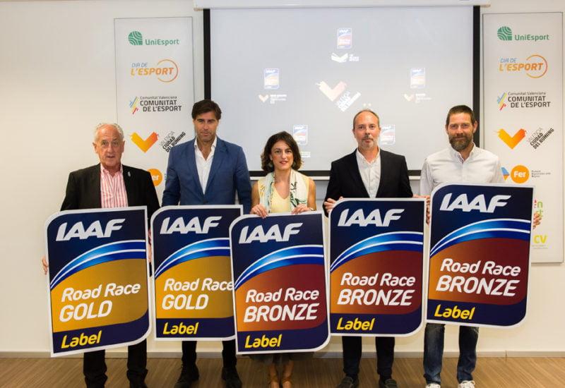 etiquetas IAaF