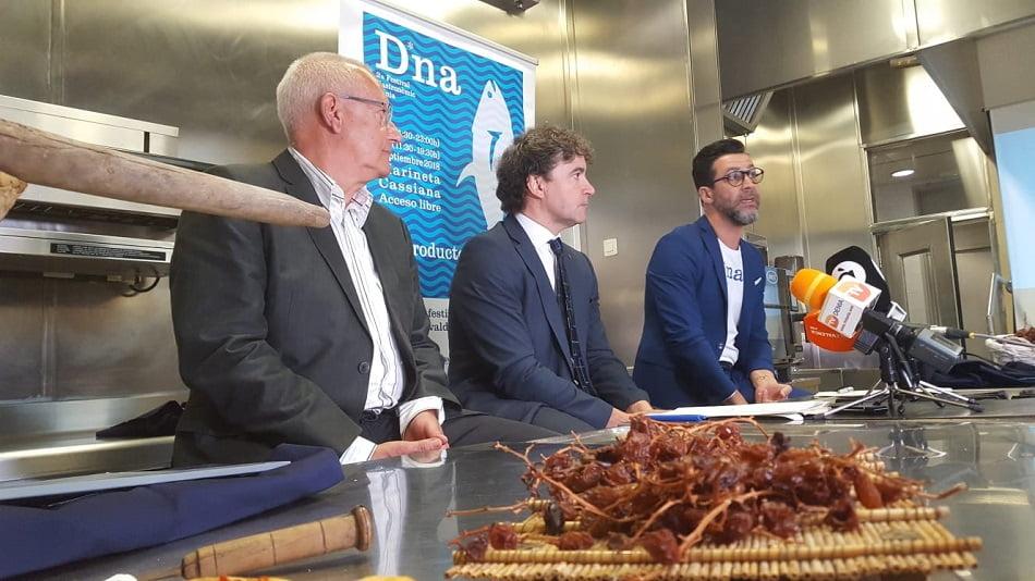 """Colomer presenta el Festival D*NA """"para ser un destino gastronómico de primera"""""""