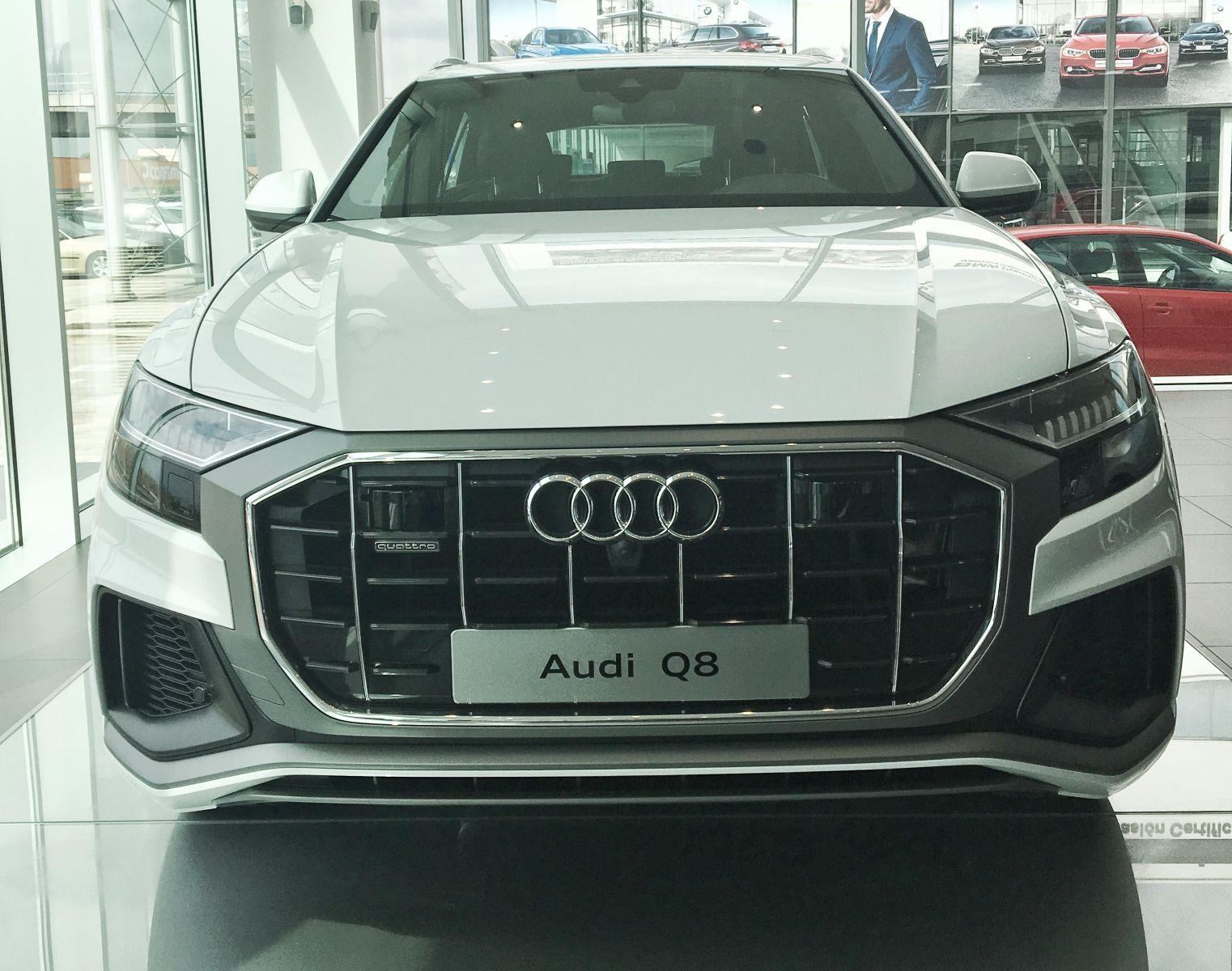 Audi Q8, nacido para impresionar