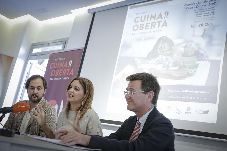 """S. Gómez: """"Cuina Oberta pretende situar a València como destino gastronómico"""""""