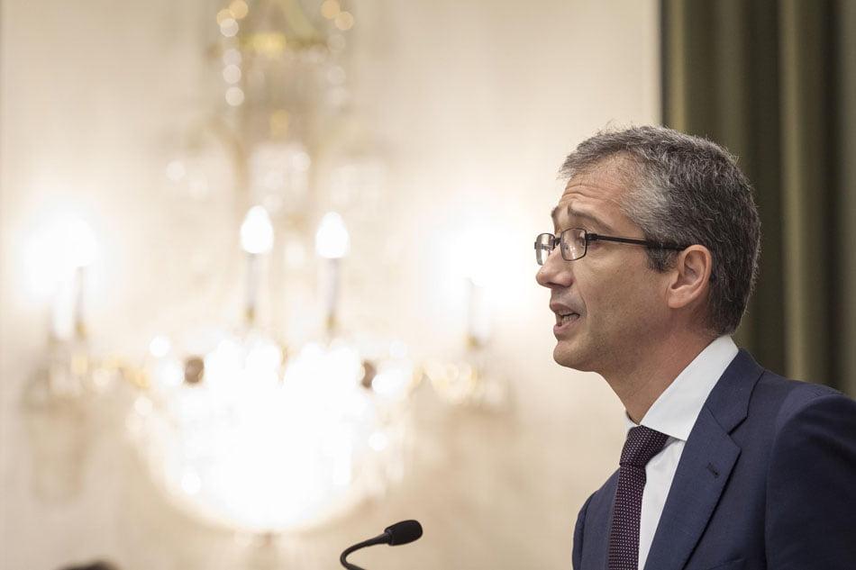 Gobernador del Banco de España, Pablo Hernández de Cos