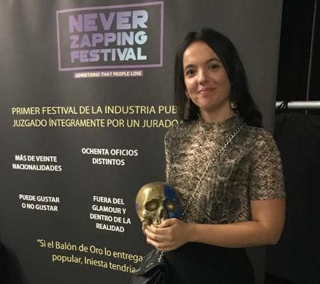 Imagen destacada La estudiante de la UJI Andrea López gana el premio nacional de creatividad