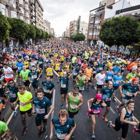 Imagen destacada Récord de participación en el medio maratón y el maratón de València