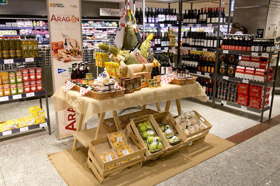 8c307fb739e Promoción de Alimentos de Aragón en los supermercados El Corte Inglés -