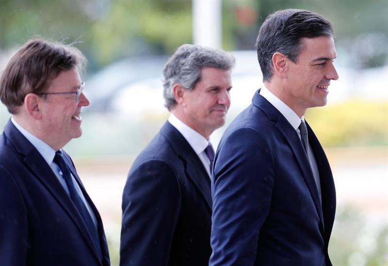 Ximo Puig, Fco. J. Riberas y Pedro Sánchez | Kai Foersterling
