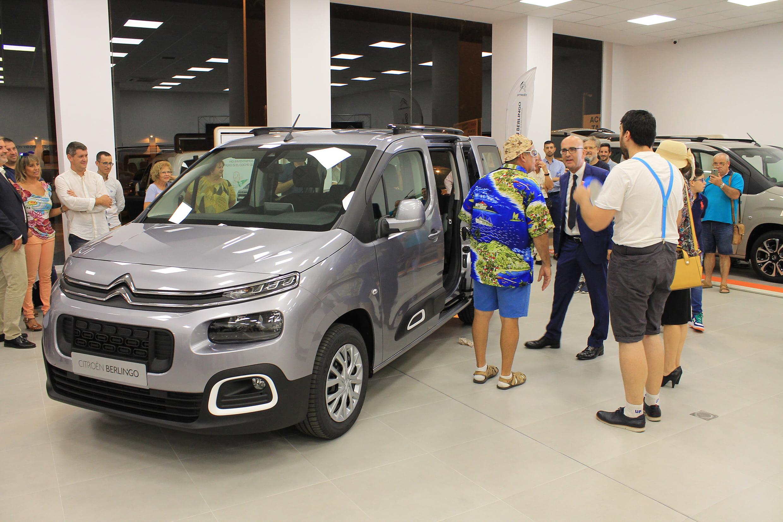 Garage Castellón estrena instalaciones renovadas con la tercera generación del Berlingo como gran protagonista