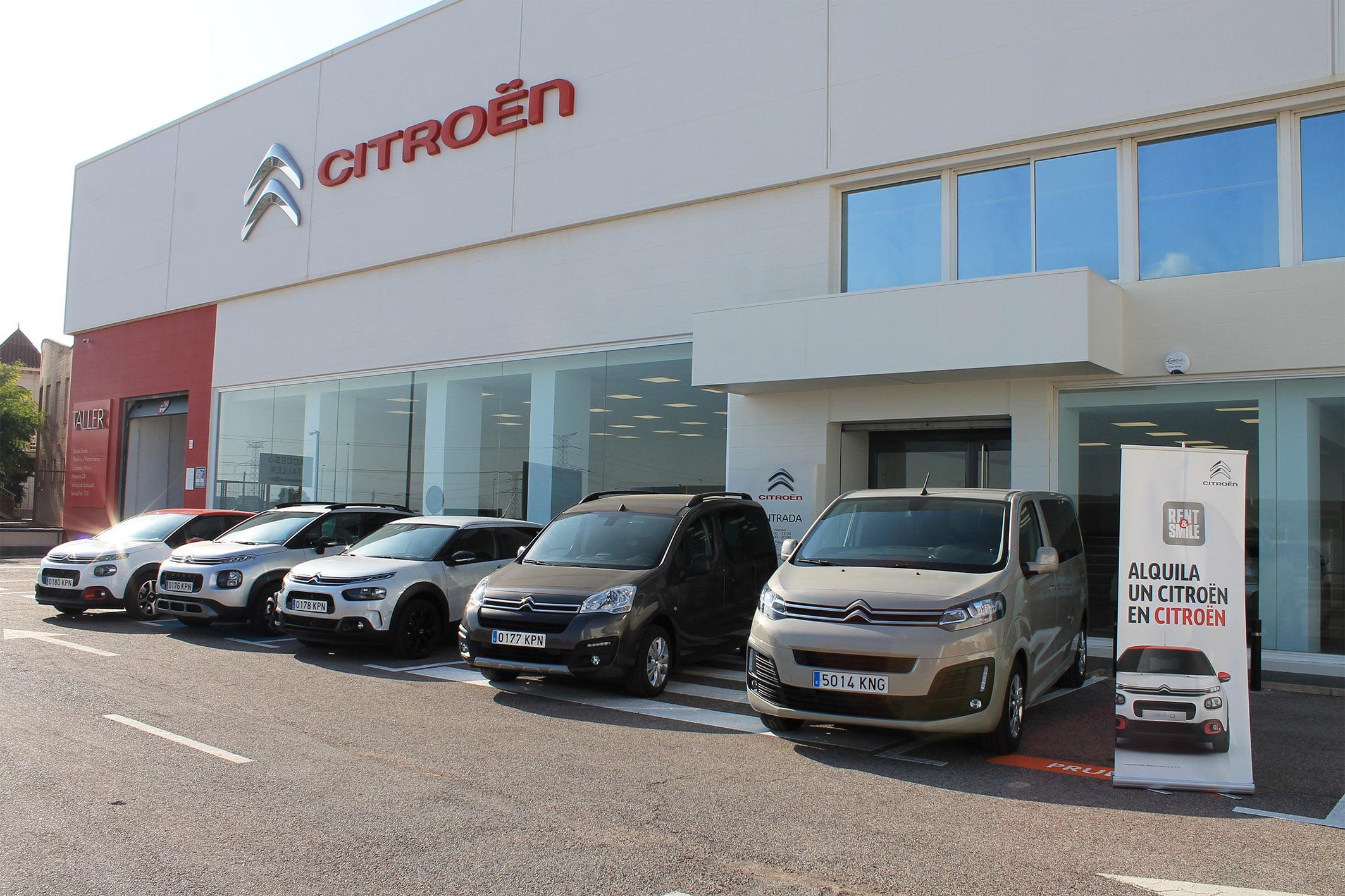 Garage Castellón presenta el programa Rent&Smile, el nuevo servicio de movilidad temporal de Citroën