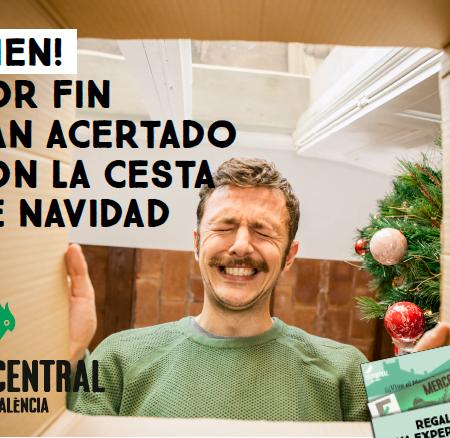 Imagen destacada Acierta con la cesta de Navidad con el Pack del Mercado Central de València