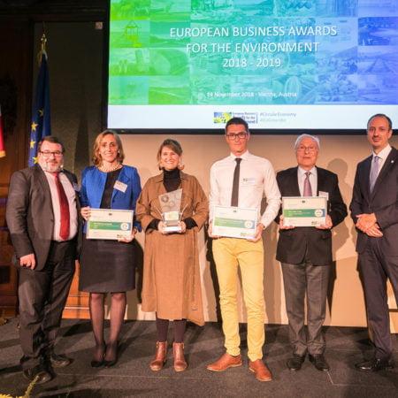 Imagen destacada Suez España, empresa matriz de Hidraqua, recibe el premio biodiversidad